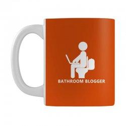 funny bathroom blogger Mug | Artistshot