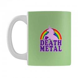 Funny Death Metal Unicorn Rainbow Mug | Artistshot