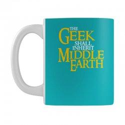 geek shall inherit middle earth Mug   Artistshot