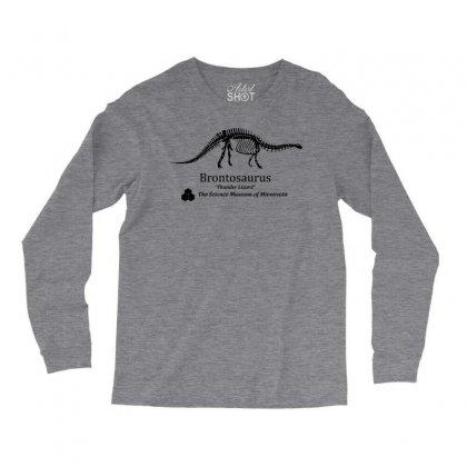 Brontosaurus Dinosaur Shirt Inspired By Dustin From Stranger Things Long Sleeve Shirts