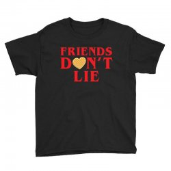 Friends Dont Lie Youth Tee | Artistshot
