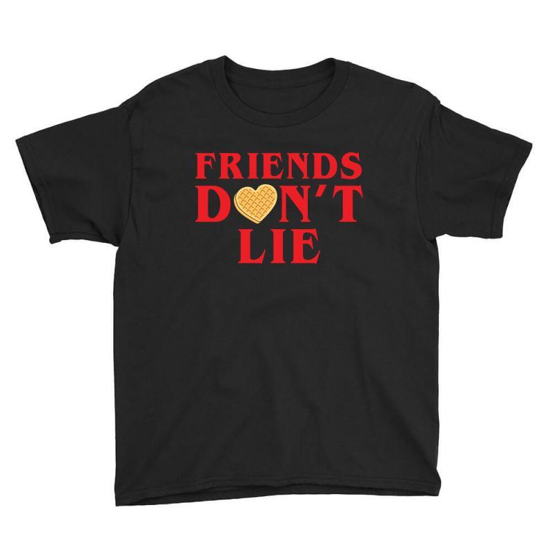 Friends Dont Lie Youth Tee   Artistshot