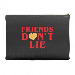 Friends Dont Lie Accessory Pouches | Artistshot