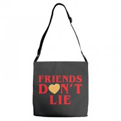 Friends Dont Lie Adjustable Strap Totes | Artistshot