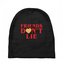 Friends Dont Lie Baby Beanies | Artistshot