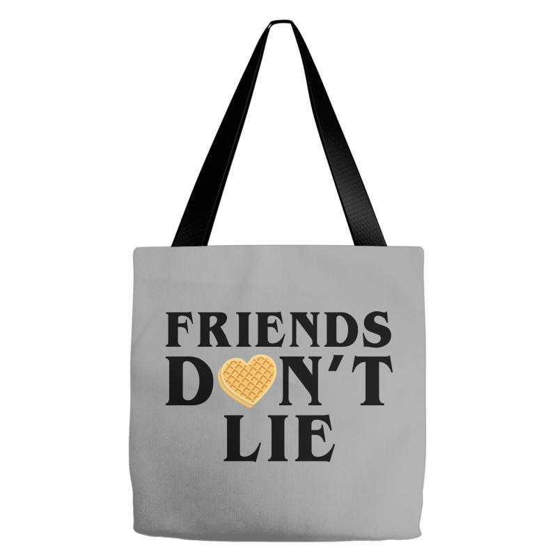 Friends Dont Lie Tote Bags | Artistshot