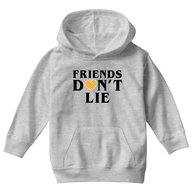 Friends Dont Lie Youth Hoodie | Artistshot