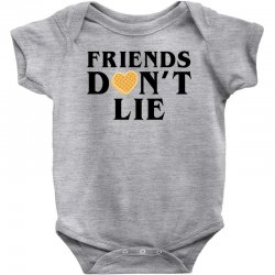 Friends Dont Lie Baby Bodysuit | Artistshot