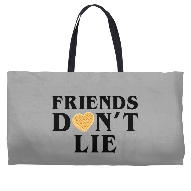 Friends Dont Lie Weekender Totes | Artistshot
