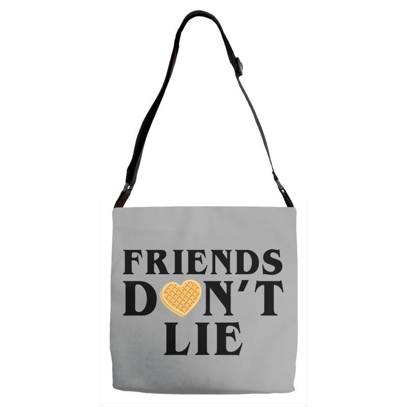Friends Dont Lie Adjustable Strap Totes | Artistshot
