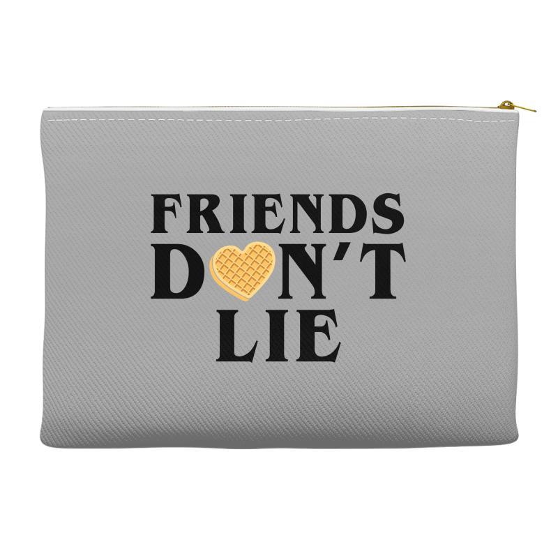 Friends Dont Lie Accessory Pouches | Artistshot