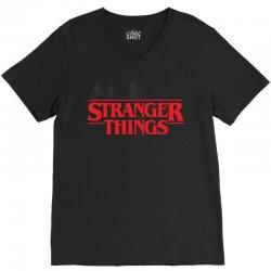 Stranger Things V-Neck Tee | Artistshot
