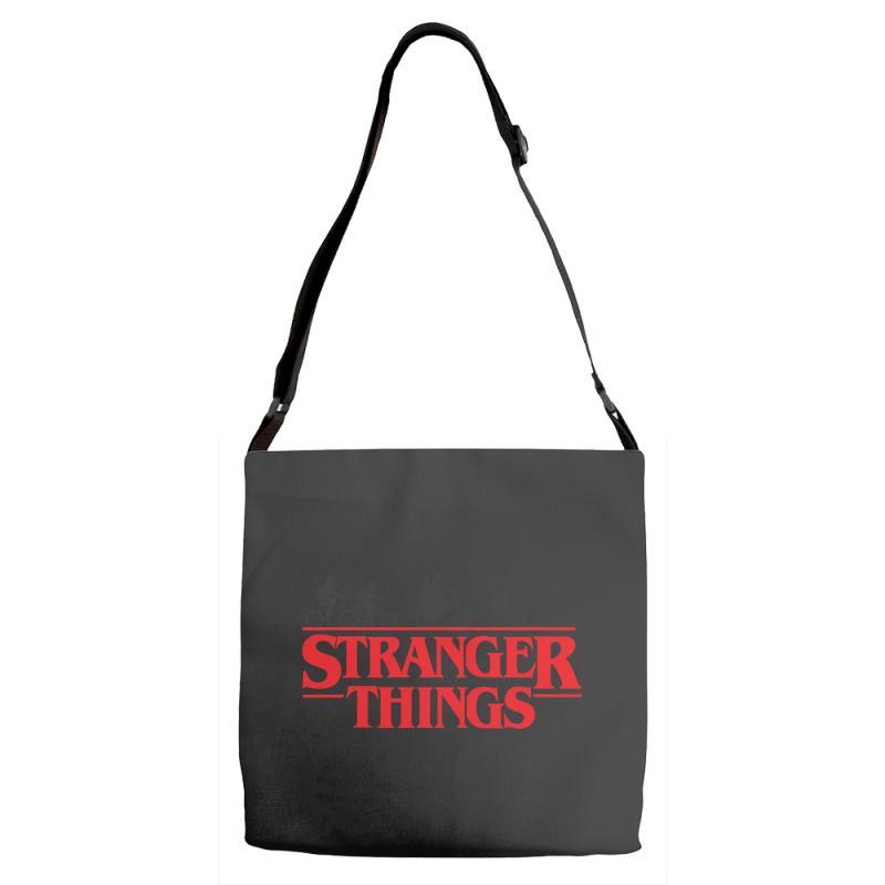 Stranger Things Adjustable Strap Totes | Artistshot