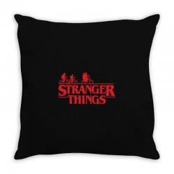 Stranger Things Throw Pillow | Artistshot