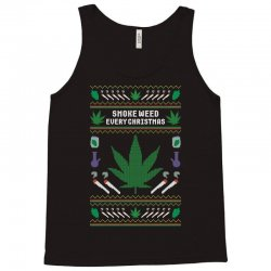 smoke weed ugly sweater Tank Top | Artistshot