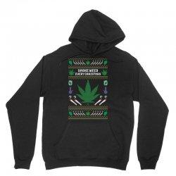 smoke weed ugly sweater Unisex Hoodie | Artistshot