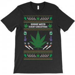 smoke weed ugly sweater T-Shirt | Artistshot
