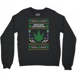 smoke weed ugly sweater Crewneck Sweatshirt | Artistshot