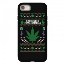 smoke weed ugly sweater iPhone 8 | Artistshot