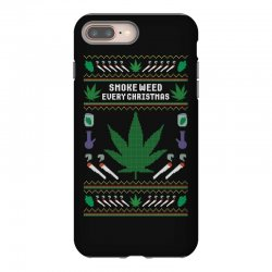 smoke weed ugly sweater iPhone 8 Plus | Artistshot