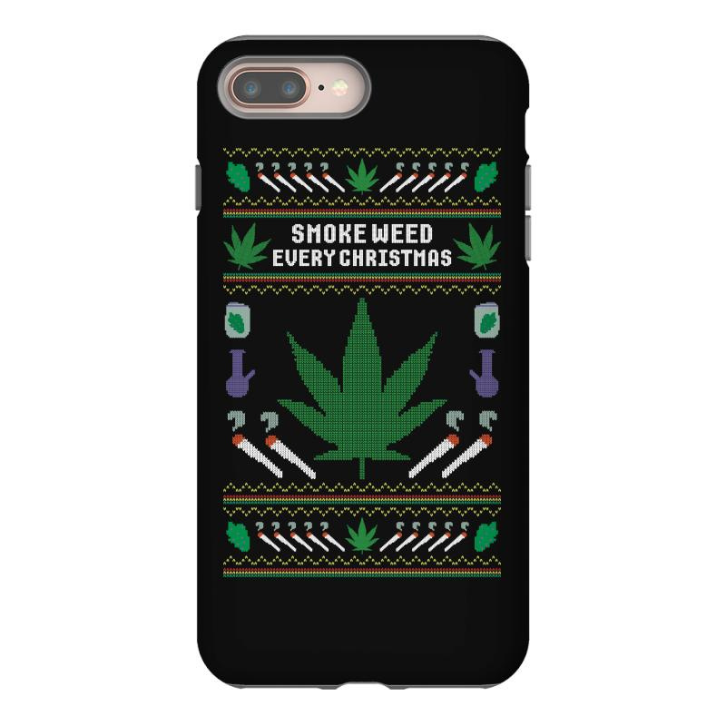 Smoke Weed Ugly Sweater Iphone 8 Plus | Artistshot