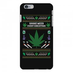 smoke weed ugly sweater iPhone 6 Plus/6s Plus Case | Artistshot