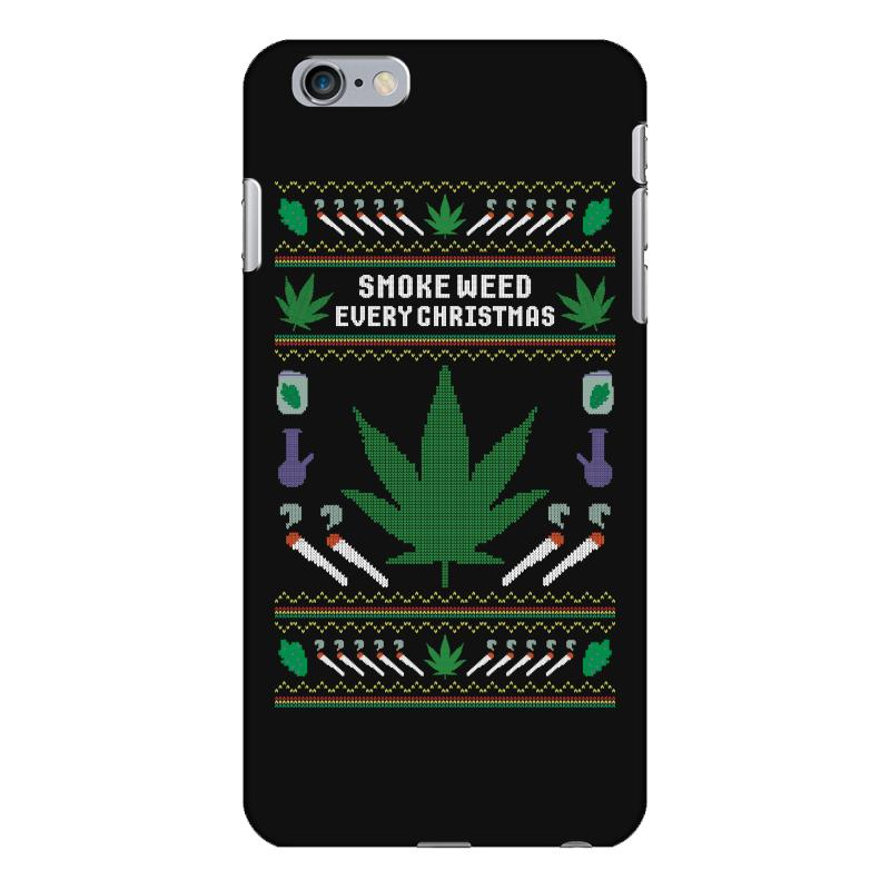 Smoke Weed Ugly Sweater Iphone 6 Plus/6s Plus Case | Artistshot