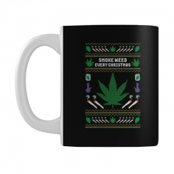 smoke weed ugly sweater Mug | Artistshot