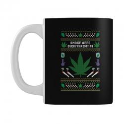 smoke weed ugly sweater Mug | Artistshot