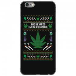 smoke weed ugly sweater iPhone 6/6s Case | Artistshot