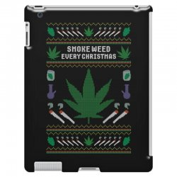 smoke weed ugly sweater iPad 3 and 4 Case | Artistshot
