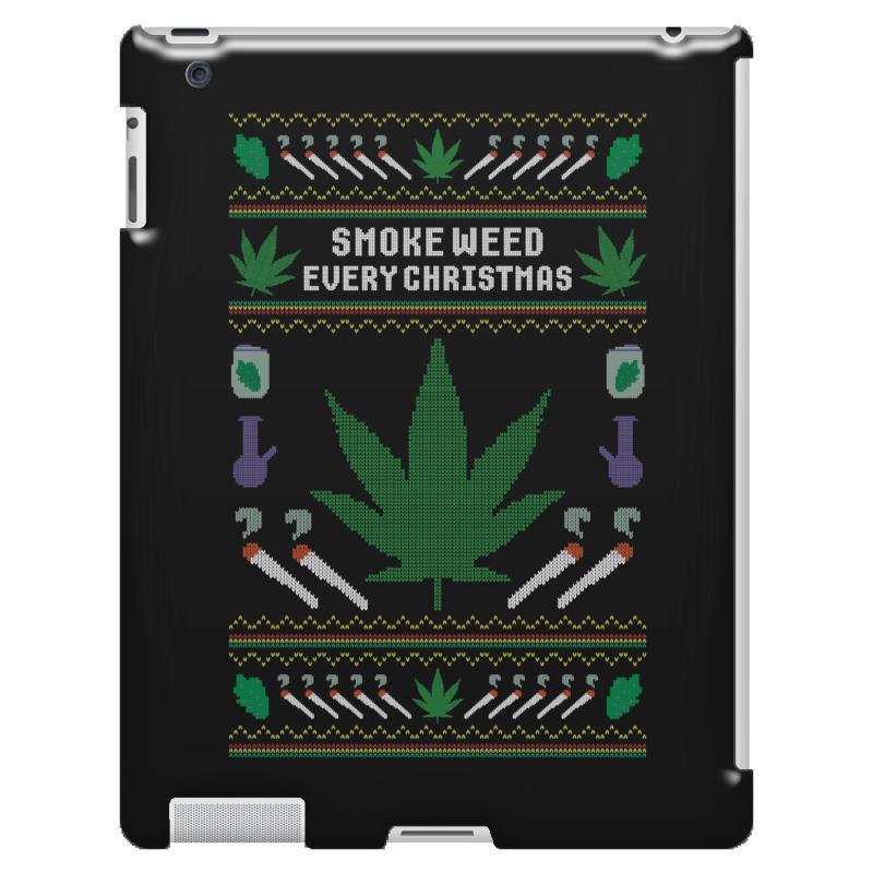 Smoke Weed Ugly Sweater Ipad 3 And 4 Case   Artistshot