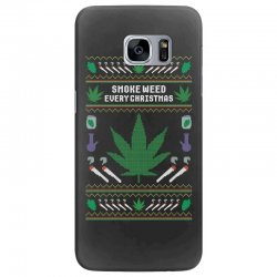 smoke weed ugly sweater Samsung Galaxy S7 Edge | Artistshot