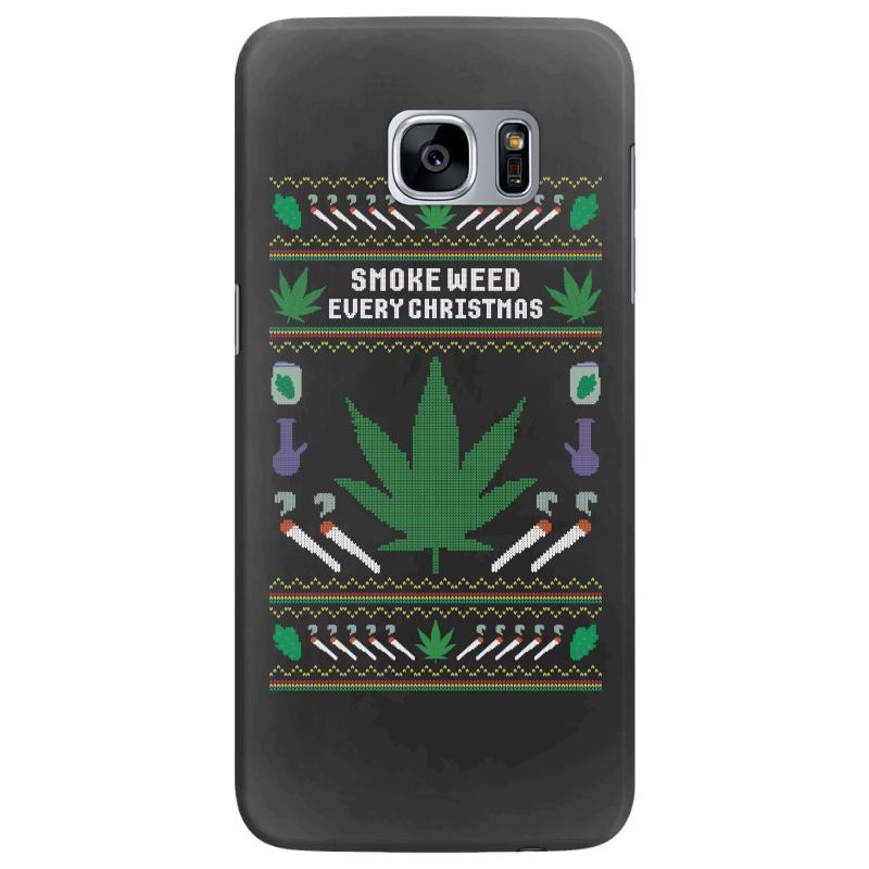 Smoke Weed Ugly Sweater Samsung Galaxy S7 Edge | Artistshot