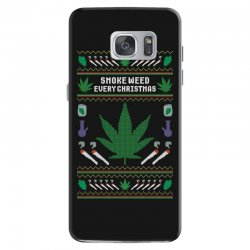 smoke weed ugly sweater Samsung Galaxy S7 | Artistshot