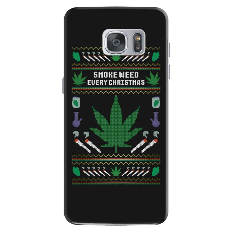 Smoke Weed Ugly Sweater Samsung Galaxy S7 | Artistshot