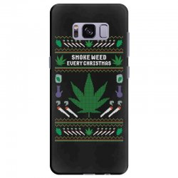 smoke weed ugly sweater Samsung Galaxy S8 Plus | Artistshot
