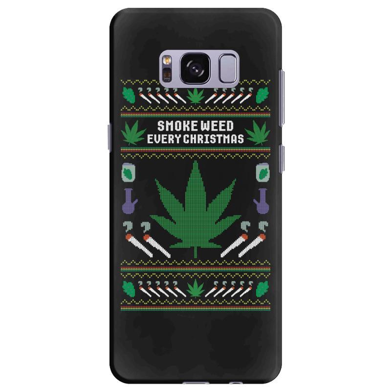 Smoke Weed Ugly Sweater Samsung Galaxy S8 Plus | Artistshot