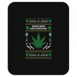 smoke weed ugly sweater Mousepad | Artistshot