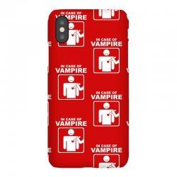 funny vampire iPhoneX Case | Artistshot