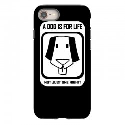 a dog is for life iPhone 8 Case | Artistshot