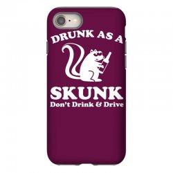 drunk as a skunk iPhone 8 Case | Artistshot