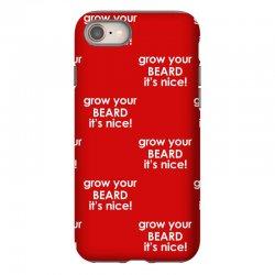 grow your beard it's nice iPhone 8 Case | Artistshot