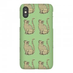 cats text iPhoneX Case | Artistshot