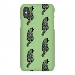 cats black iPhoneX Case | Artistshot
