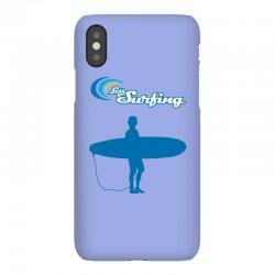 the surfing iPhoneX | Artistshot