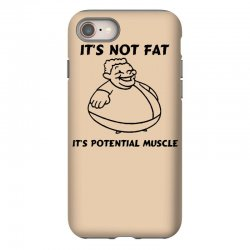 it's not fat, it's potential muscle iPhone 8 Case | Artistshot