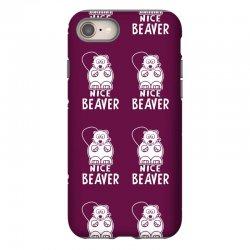nice beaver iPhone 8 Case | Artistshot
