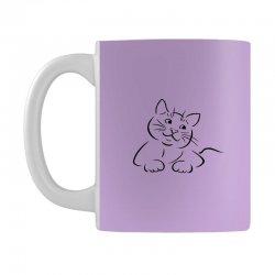 the cat simple Mug | Artistshot
