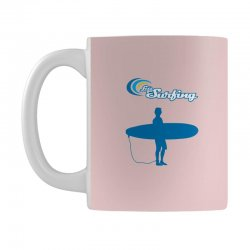 the surfing Mug | Artistshot